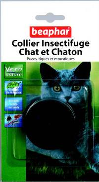 collier insectifuge chats