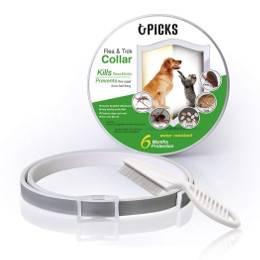 collier répulsif antiparasitaire - chien et chiot